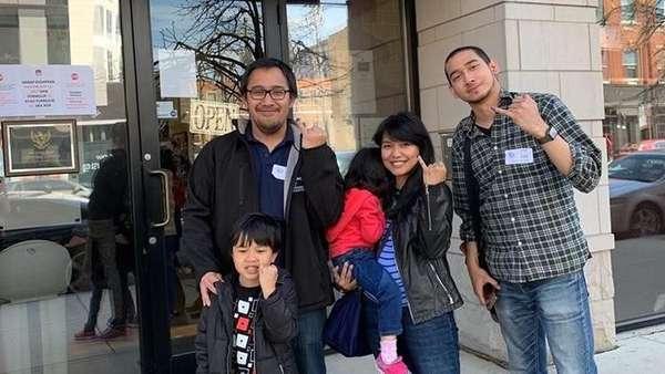 Partisipasi WNI di Chicago AS yang Ikuti Pemilu 2019 Naik 300%