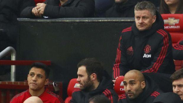Statistik Miris Alexis Sanchez di Laga Man United vs Man City