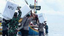 Sebrangi Laut, Begini Distribusi Logistik Pemilu di Situbondo