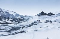 Islandia yang menawan juga menjadi lokasi syuting Game of Thrones. Inilah gletser Myrdalsjokull yang menjadi latar base camp The Night's Watch (iStock)