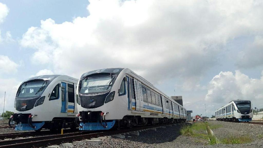 Jelang Lebaran,Operasional Kereta LRTPalembang bakal Ditambah