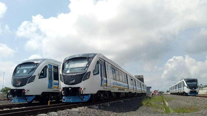 Depo LRT Palembang Foto: Raja Adil Siregar/detikcom