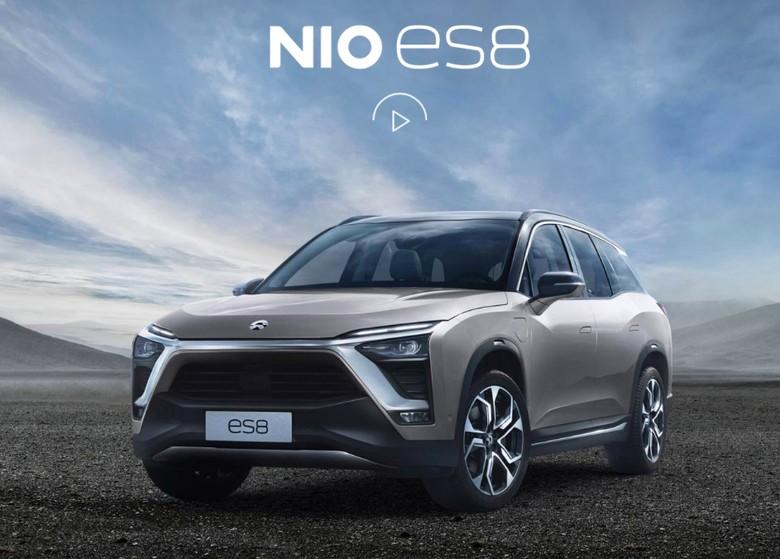 Mobil listrik Nio ES8  Foto: Dok. Nio