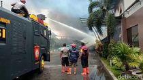Polisi Selidiki Kebakaran Pabrik Kacang Garuda Food di Pati