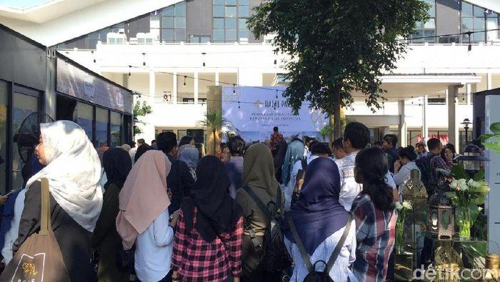 Foto: Suasana Halal Park di GBK, (Vadhia Lidyana/detikFinance)