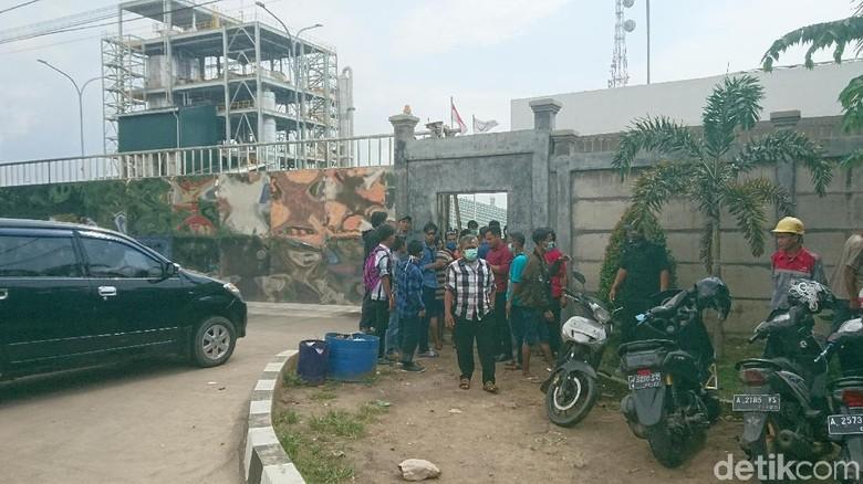 Siswa SD di Cilegon Mual-mual karena Bau, Polisi Datangi Pabrik