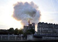 Katedral Notre-Dame di Paris Terbakar, JK Sampaikan Duka Cita