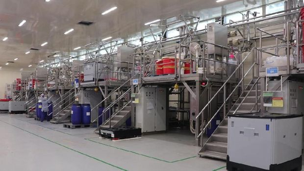 Pertamakalinya Wardah Ungkap Isi Pabrik ke Publik yang Luasnya 20 Hektar