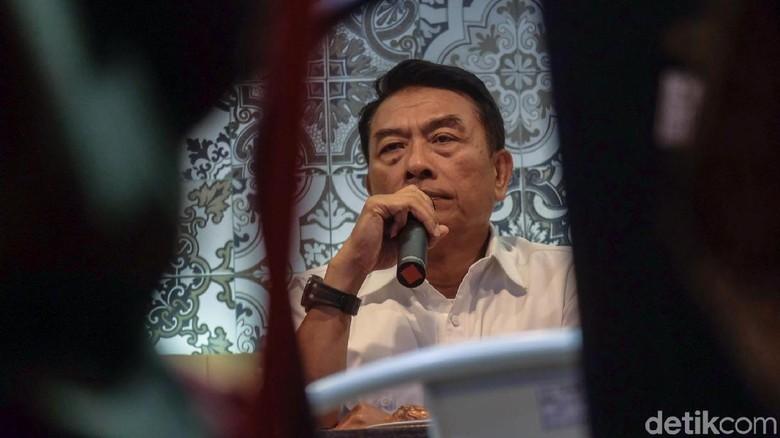 Moeldoko: Jokowi Siap Kapan Pun Bertemu Prabowo