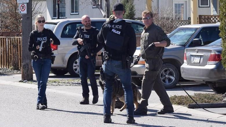 4 Orang Tewas dalam Penembakan Brutal di Kanada, Pelaku Ditahan