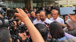 Jokowi Unggul di Quick Count, Surya Paloh Berharap Lanjut Terus