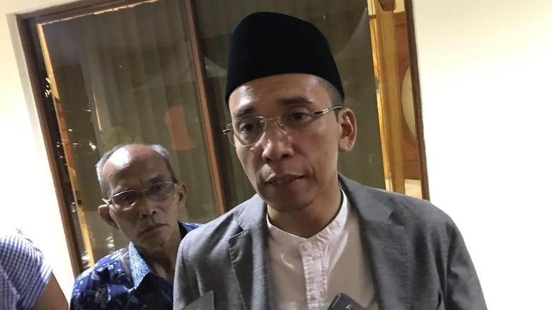 Jokowi Menang Versi Hitung Cepat, TGB Klaim Tak Ada Euforia dari TKN
