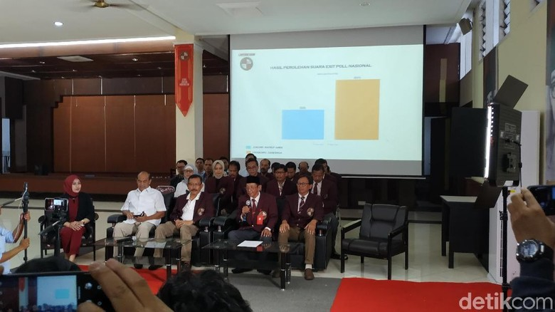 Exit Poll Kampusnya Prabowo: Pasangan 02 Dapat 66%