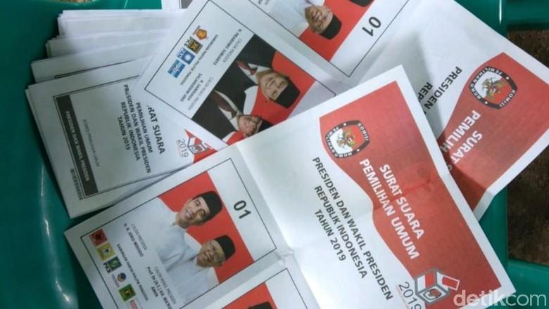 Bawaslu DIY Ungkap Temuan 10 Surat Suara Tercoblos 02 di Bantul