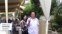 Tokoh Nasional Chairul Tanjung Nyoblos di Cendana