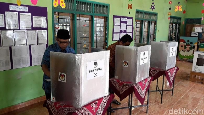 Prabowo-Sandi Menang di TPS Ketum PP Muhammadiyah Haedar Nashir