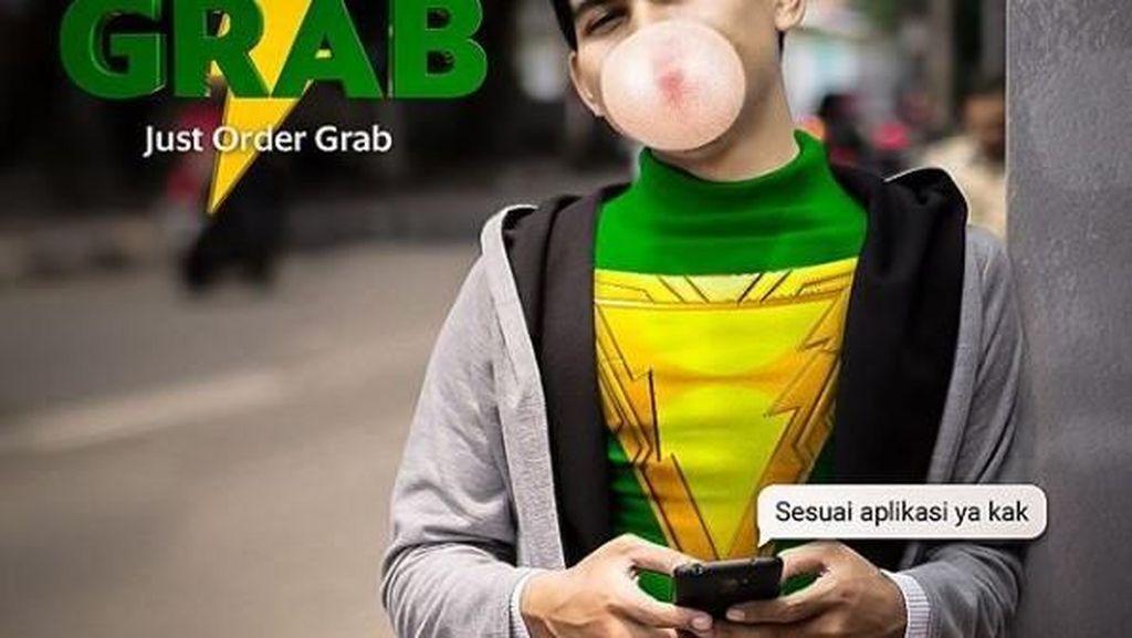 Grab Bikin Parodi Shazam, Netizen Merespons dengan Kocak