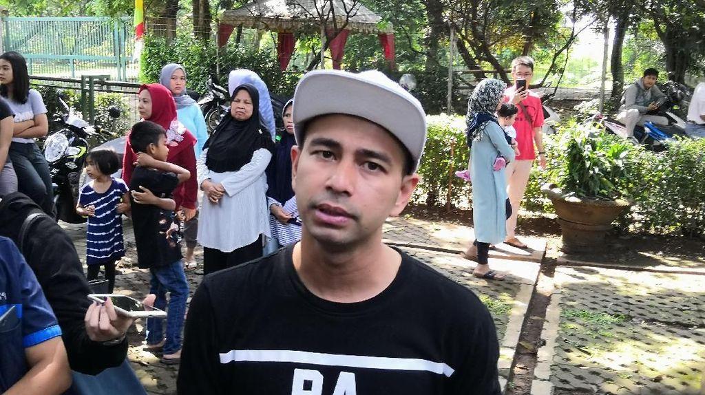 Raffi Ahmad Sering Ziarah ke Makam Olga Syahputra