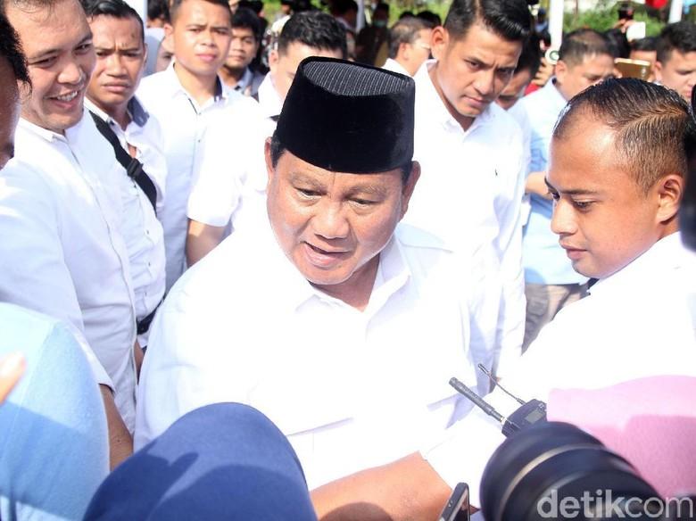 Prabowo Menang di TPS Wali Kota Bandung Oded
