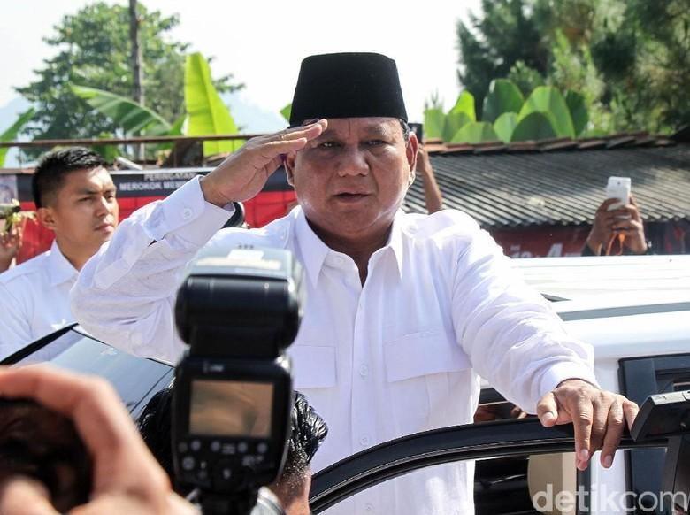 Usai Nyoblos, Prabowo Sarapan Lalu Akan Merapat ke Kertanegara