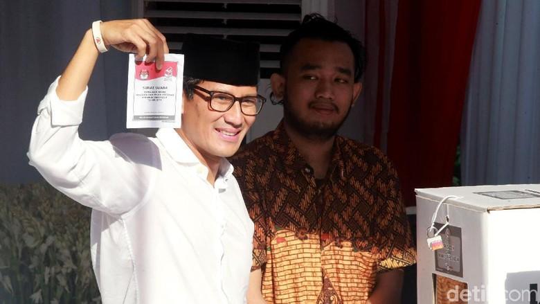 Sandiaga Minta Masyarakat Kawal C1 Pemilu