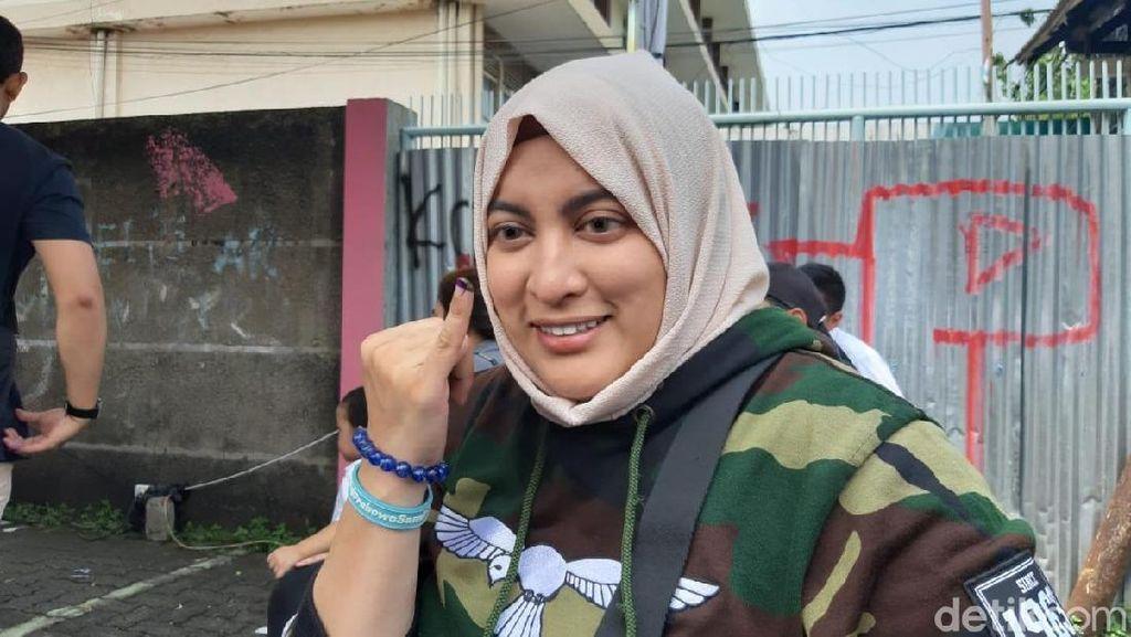 Ikut Arahan Para Habib, Jane Shalimar Lega Coblos Prabowo-Sandi