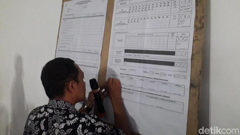 Di TPS Amien Rais, Jokowi Menang Raih 158 Suara dan Prabowo 80 Suara