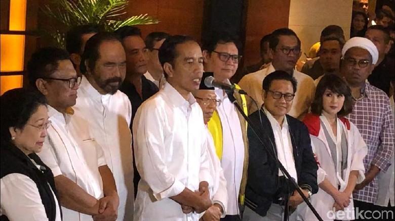 Jokowi-Maruf Konsolidasi dengan Ketum Parpol Koalisi Sore Ini di Menteng