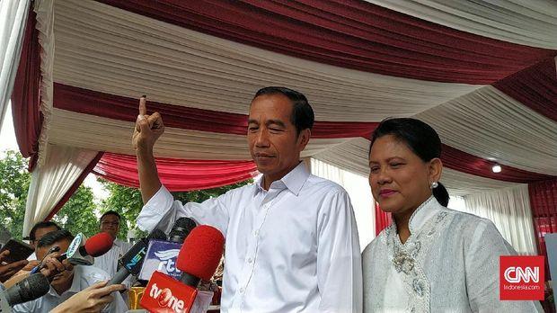 Jokowi dan Iriana Jokowi