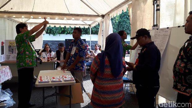 Jokowi-Amin Raih Menang di Kompleks Perumahan Menteri