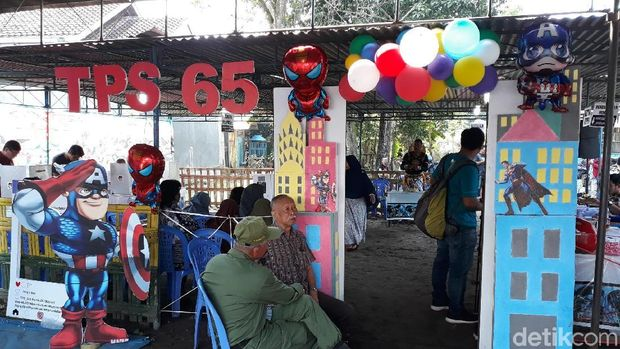 TPS 65 Kecamatan Kasihan, Bantul.