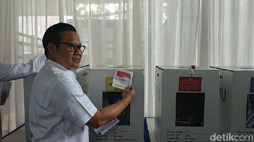 Jokowi Kalah di Jabar-Banten, Cak Imin: Salah Milih Koordinator