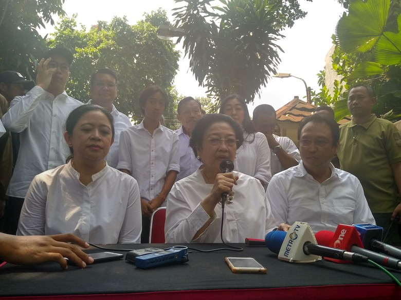 Singgung Pilpres 2004-2009, Megawati: Waktu Kalah Saya Nggak Ribut