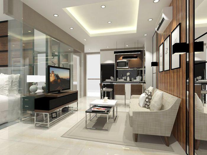 Desain interior apartemen PIK 2 (Ilustrasi: dok. Agung Sedayu Group)