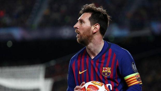Intip Dunia Mode, Messi Ikuti Jejak Ronaldo