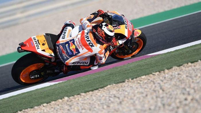 Belum diketahui masalah yang dialami motor Jorge Lorenzo di MotoGP Amerika Serikat. (Foto: Giuseppe Cacace / AFP)