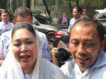 Titiek Soeharto Tinggalkan Kediaman Prabowo Subianto di Kertanegara