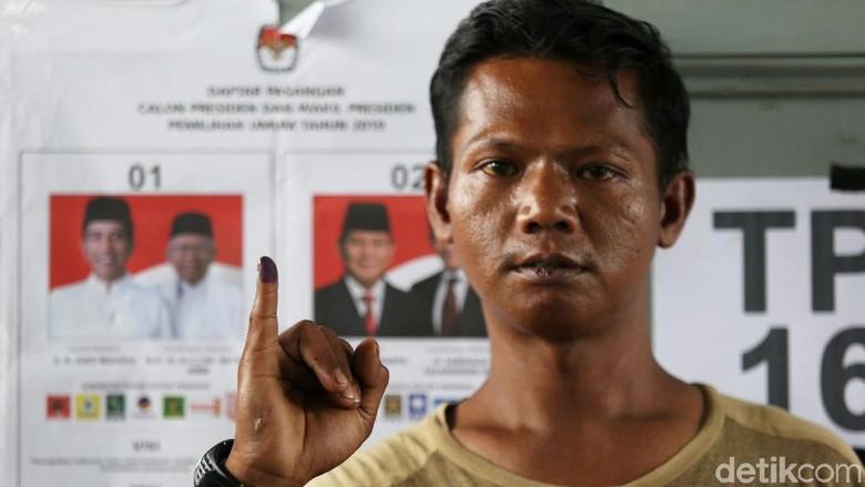 Asyik, Para Napi Ikutan Nyoblos di Lapas Cipinang