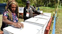 Logistik Pemilu 2019 di Papua Terlambat, Gubernur Kecewa