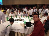 Jokowi berkumpul bersama ketum parpol KIK