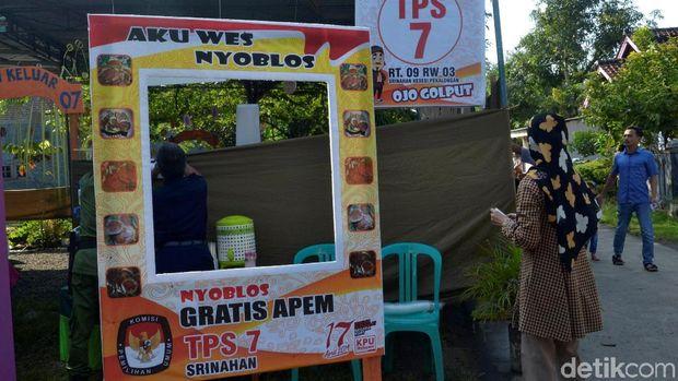 TPS di Srinahan Kesesi, Kabupaten Pekalongan