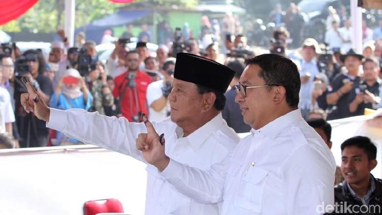 Fadli Zon: Bertemu Jokowi, Prabowo Kedepankan Kepentingan Bangsa