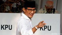 Sandiaga: Saya Nggak Punya Perbedaan Pandangan terhadap Pak Prabowo