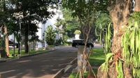 Iring-iringan mobil Jokowi tinggalkan Istana