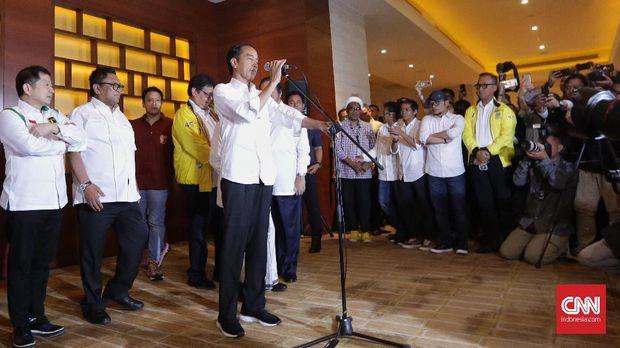 Beda Sikap Jokowi dan Prabowo Sikapi Hasil Quick Count