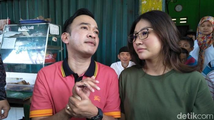 Ruben Onsu dan Sarwendah (Foto: Pingkan/ detikHOT)
