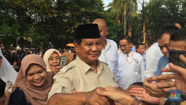 Pernyataan Lengkap Prabowo Komentari Exit Poll & Quick Count
