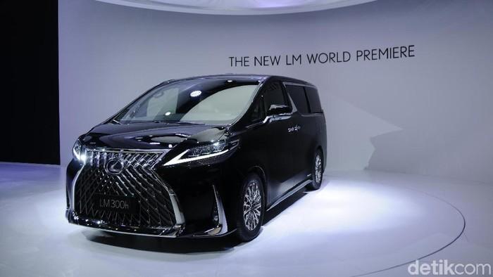 MPV mewah Lexus LM dipamerkan di Shanghai Auto Show