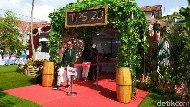 TPS 20 di Kota Semarang dihiasi mirip pesta pernikahan