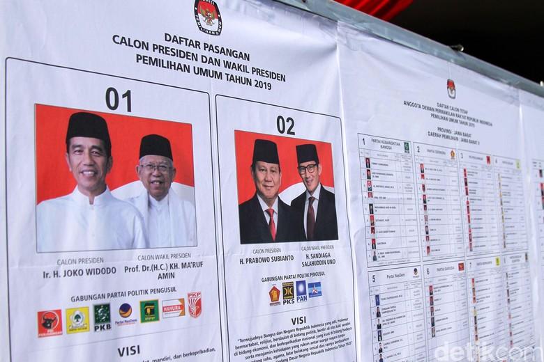 Update Data KawalPemilu Pagi Ini: Jokowi Ungguli Prabowo